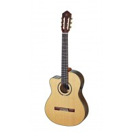 Ortega RCE159MN-L Lefty Pro Medium Neck Elec/Acou Classical Guitar  - Blem