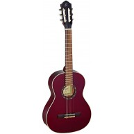 Ortega R121-1/2 WR Wine Red 1/2 Size 6 String Classical Guitar - Blem #XZ83