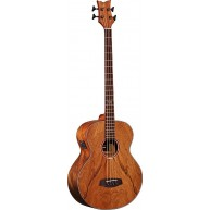 Ortega D3NC-4 Acoustic Electric 4-String Bass, All Dao Wood w/Bag and Strap