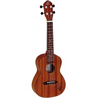 Ortega Model RU5MM Concert Size All Mahogany 4-String Acoustic Ukulele