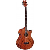 Ortega D3C-4 4 String Deep Series Acoustic Cutaway Bass Guitar - Blem #XZ17