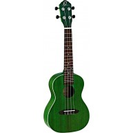 Ortega Earth Series RUFOREST Transparent Green Concert Size Okoume Wood Uku