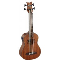 Ortega Guitars LIZZY-BS-GB Lizard Series all Mahogany Uke Bass   - Blem #XZ