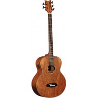 Ortega D3NC-5 Acoustic Electric 5-String Bass, All Dao Wood w/Bag and Strap
