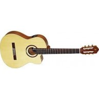Ortega RCE138SN Pro Slim Neck Electric/Acoustic Classical Guitar  - Blem #X