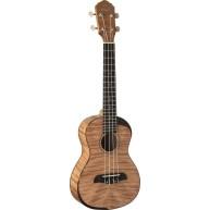 Oscar Schmidt Model OU800C - Comfort Series Ukulele Flame Maple Concert Siz