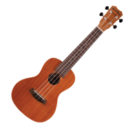 Islander MC-4-EQ Satin Finish Mahogany Concert Elect/Acous Ukulele from Kan