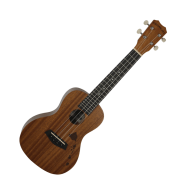 "Islander MS-4-ISL Satin Finish ""Islands"" Mahogany Soprano Ukulele from Kani"