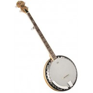Oscar Schmidt OB5SP-O Spalted Resonator 5 String Banjo - CITES safe for Exp