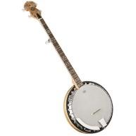 Oscar Schmidt OB5SP-O Spalted Resonator 5 String Banjo - CITES safe for Exp