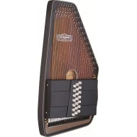 Oscar Schmidt Model OS11021AE Acoustic Electric 21 Chord Autoharp -The Amer