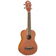 Oscar Schmidt Model OU2LH Left Handed Concert Size Satin Finish Ukulele
