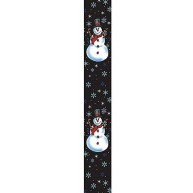 Perris Leathers LPCP-6847 Special Days Guitar Strap, Snowman