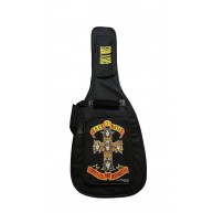 Perri's EGB-GNR1 Guns N Roses Electric Guitar 600D Nylon Padded Gig Bag