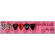 Pack of 6 Perri's Penthouse Guitar Picks in Collectible Clamshell #LP-PH1