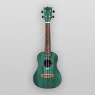 Puka Model PK-DPT Dolphin Rosette Deep Blue Satin Finish Tenor Size Ukulele