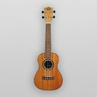 Puka Model PK-PES Peace Rosette Natural Satin Finish Soprano Size Ukulele