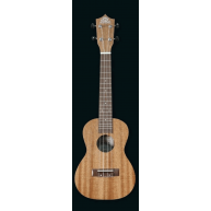 PukanaLa Model BE01C Concert Ukulele with Sapele Mahogany Top, Back and Sid