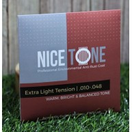 Nice Tone Model NTA010 Phosphor Bronze Acoustic Guitar Strings .010-.048