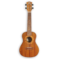PukanaLa Model PU-NVS Soprano Ukulele with Sapele Mahogany Top, Back and Si