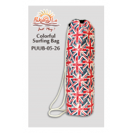 PukanaLa Model PUUB-05-26 Colorful Nylon Union Jack Ukulele or ? Tote Bag