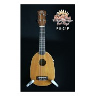 PukanaLa Model PU21P Pineapple Ukulele - Mahogany Top, Back and Sides - Ble