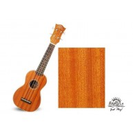 PukanaLa Model PU21S Soprano Ukulele with Sapele Mahogany Top, Back and Sid