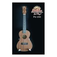 PukanaLa Model PU23C Concert Ukulele with Sapele Mahogany Top, Back and Sid