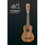 PukanaLa BE01S Soprano Ukulele w/ Sapele Mahogany Top, Back & Sides PLAYER