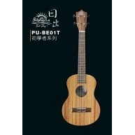 PukanaLa Model BE01T Tenor Ukulele with Sapele Mahogany Top, Back and Sides