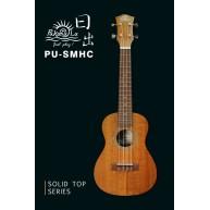PukanaLa Model PU-SMHC Solid Sapele Mahogany top Series Concert Size Ukulel