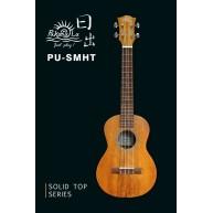 PukanaLa Model PU-SMHT Solid Sapele Mahogany top Series Tenor Size Ukulele