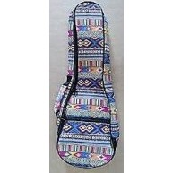 PukanaLa Model PU-UB02-N5C 5MM Padded Colorful Nylon  Ukulele Gig Bag
