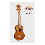 PukanaLa PU-K1L Solid Acacia Koa K Series Long Scale Soprano Ukulele - Blem