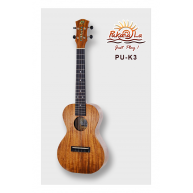 PukanaLa Model PU-K3 All Solid Acacia Koa K Series Professional Tenor Ukule