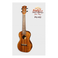 PukanaLa Model PU-K2 All Solid Acacia Koa K Series Professional Concert Uku