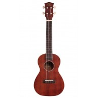 PukanaLa Model PU13C Concert Ukulele with Sapele Mahogany Top, Back and Sid