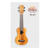 PukanaLa Model PU-K1 All Solid Acacia Koa K Series Professional Soprano Uku