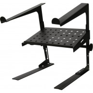 DR Pro DJ Laptop Stand and Shelf Bundle Black Brand New
