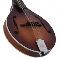 The Loar Model LM-110-BRB Honey Creek Hand-Carved A-Style Mandolin in Brown