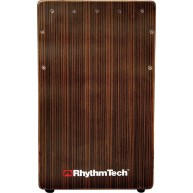 RhythmTech Cajon Model RT5751EB with Striped Ebony Meranti Faceplate
