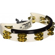 Rhythm Tech DST21 Drumset Mountable Tambourine DST 21 White
