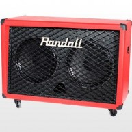 Randall RD212-V-RED  2x12 140 Watt Celestion Speaker Cabinet 8ohms - RED -