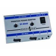 Signal Flex SF8060 Phantom Power Supply for 1 or 2 Condenser Microphones