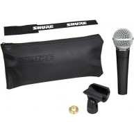 Shure SM58-LC Cardioid Vocal Microphone - New Old Stock in the box
