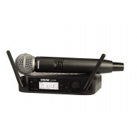 Shure GLXD24/SM58 Digital Vocal Wireless System with SM58 Handheld Micropho