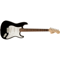 Squier by Fender Affinity Series Stratocaster Electric Guitar, Black Finish