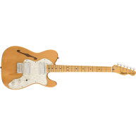 Fender Squier Classic Vibe 70's Telecaster Thinline Electric Guitar Natural