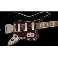 Fender Squier Classic Vibe Series Bass VI 6-String Electric Bass, Gloss Bla