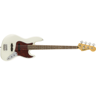 Squier Fender Vintage Modified Olympic White 4-String Electric Jazz Bass Gu